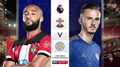 Full match: Southampton vs Leicester City
