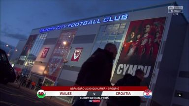 Full match: Wales vs Croatia