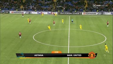 Full match: Astana vs Manchester United