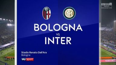 Full match: Bologna vs Inter Milan