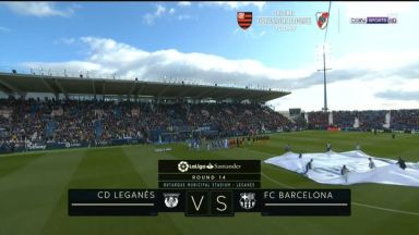 Full match: Leganes vs Barcelona