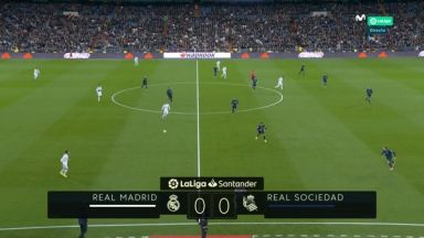 Full match: Real Madrid vs Real Sociedad