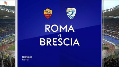 Full match: Roma vs Brescia