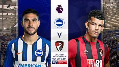Full match: Brighton & Hove Albion vs AFC Bournemouth