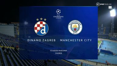 Full match: Dinamo Zagreb vs Manchester City
