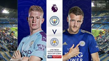 Full match: Manchester City vs Leicester City