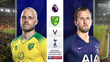 Full match: Norwich City vs Tottenham Hotspur