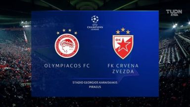Full match: Olympiakos Piraeus vs Crvena Zvezda