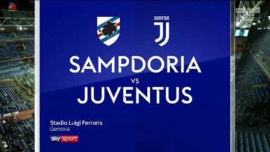 Full match: Sampdoria vs Juventus