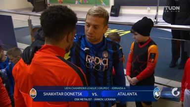 Full match: Shakhtar Donetsk vs Atalanta