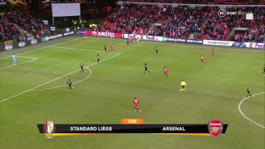 Full match: Standard Liège vs Arsenal
