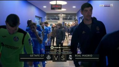 Full match: Getafe vs Real Madrid