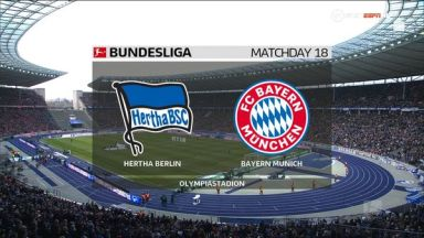 Full match: Hertha BSC vs Bayern Munich