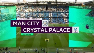 Full match: Manchester City vs Crystal Palace
