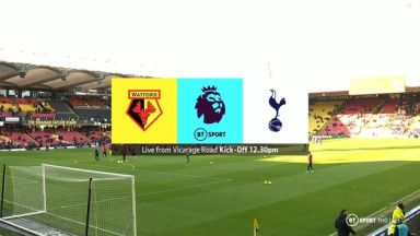 Full match: Watford vs Tottenham Hotspur