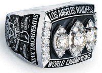 Raiders Super Bowl ring - Oakland Raiders Draft