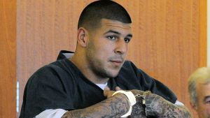Aaron Hernandez - AP Photo