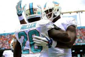 On the road, the team must stick together and be a single focused unit to be successful. (Getty Images) Miami Dolphins