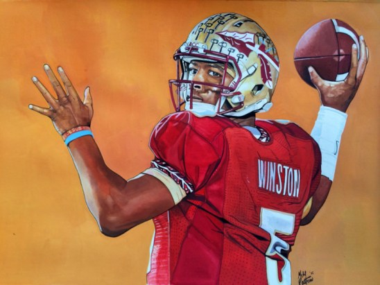 Jameis Winston by Michael Pattison