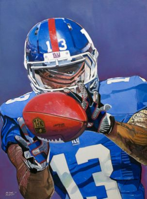 Odell Beckham jr. by Michael Pattison