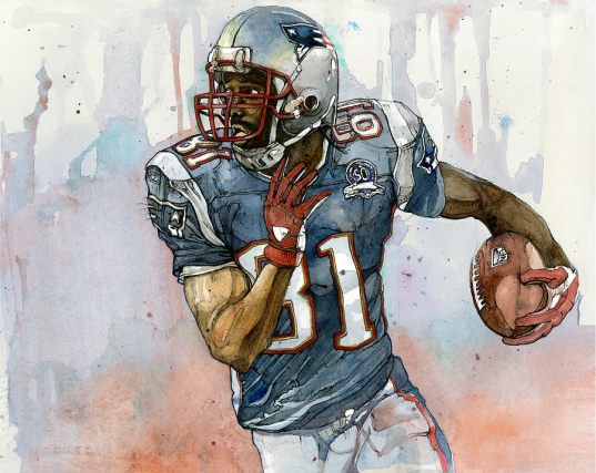 Randy Moss by Michael Pattison