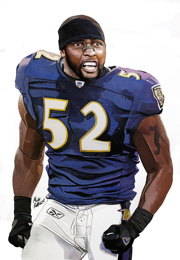 Ray Lewis by Michael Pattison
