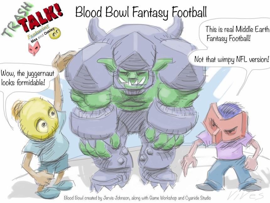 Trash Talk Blood Bowl Fantasy Football