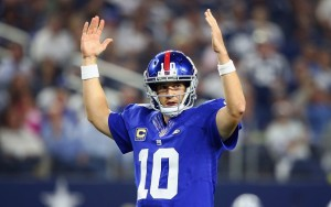 Eli Manning approves of this prediction.