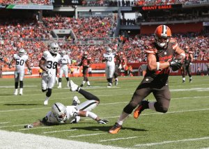 Gary Barnidge - AP Photo