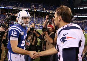 Andrew Luck & Tom Brady