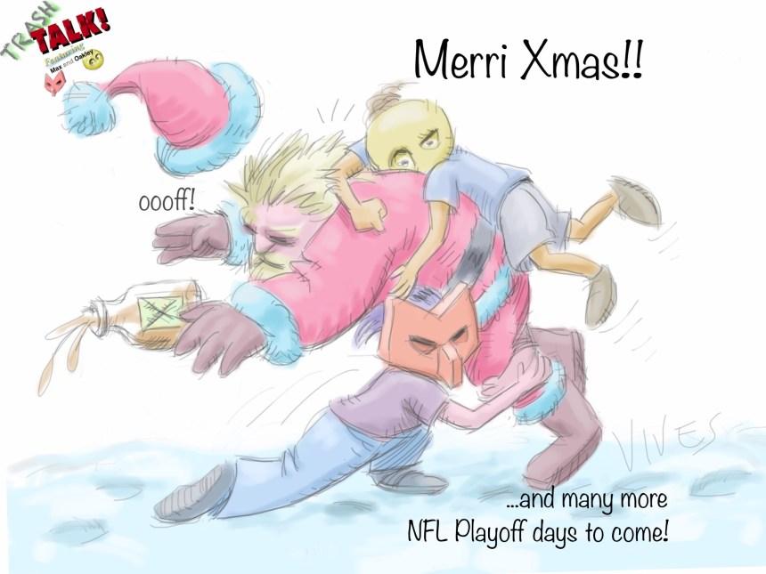 Trash Talk Merry Christmas
