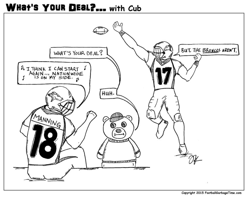 What's Your Deal - Peyton Manning (Small)