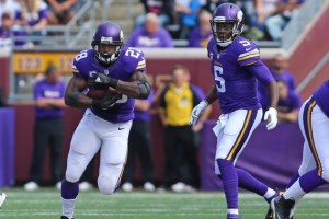 Adrian Peterson & Teddy Bridgewater