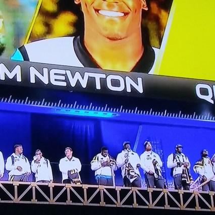 Carolina Panthers at NFL Super Bowl Opening Night