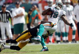 Brandon Marshall in Miami - Getty Images