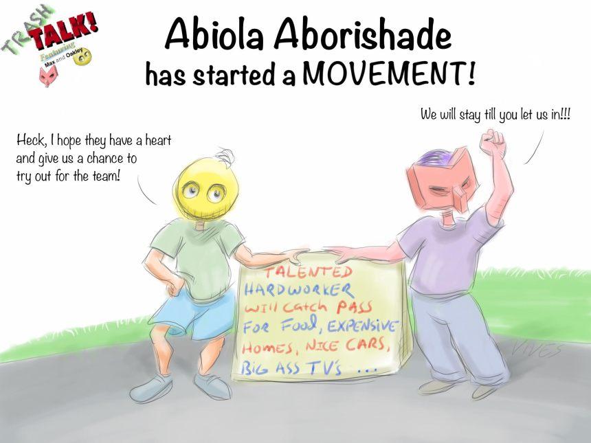 Trash Talk - Abiola Aborishade