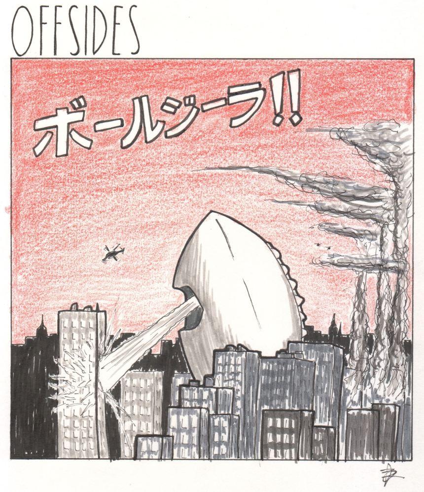 OFFSIDES-058 [2411409] Godzilla