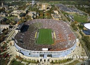 notre-dame-stadium Notre Dame Stadium – Aerial View Publishing
