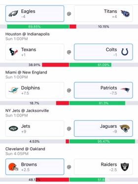 Wally Week 4 NFL Picks Part 2