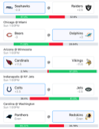 Week 6 NFL Picks 2018 - Wally 2