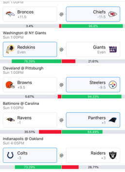 Week 8 NFL Picks 2018 - Wally 2