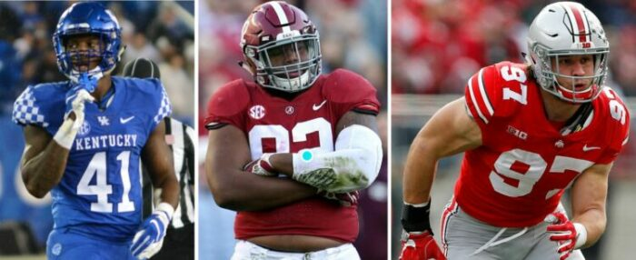 2019 Football Garbage Time 5th Annual Mock Draft 2.0 - Round 1