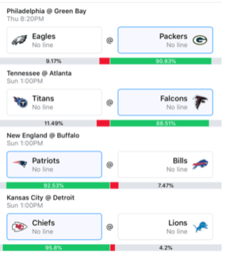 Wally 1 Week 4 Picks 2019