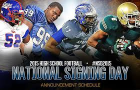 nationl signing day