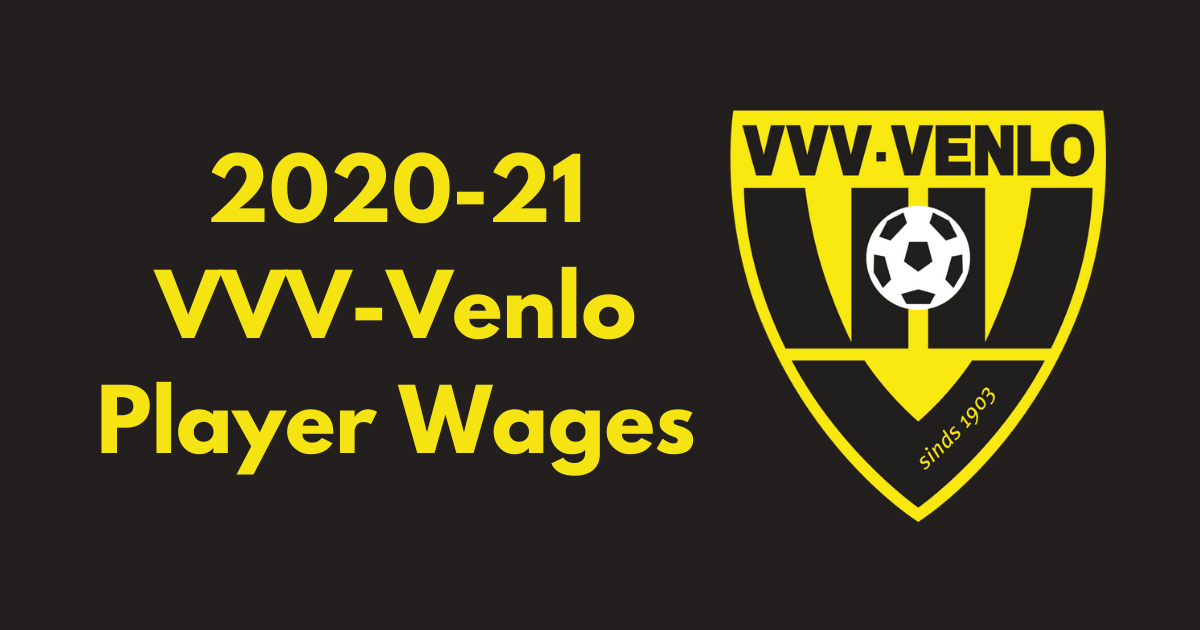 vvv venlo 2020 21 player wages
