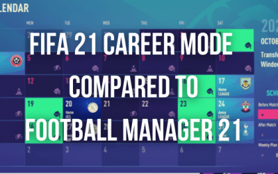 Fifa 21 Career Mode Compared to Football Manager 21