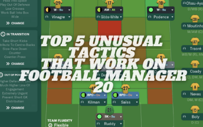 Top 5 Unusual Tactics That Are Successful on FM20