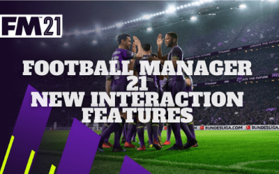 Football Manager 21 New Features: Player Interactions