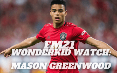 FM21 Wonderkid Watch: Mason Greenwood