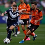 Brisbane Roar upsets Victory homecoming